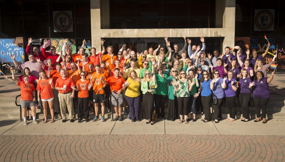 Student Affairs Division on National Coming Out Day