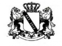 delta Delta Phi Zeta Logo - Shield with a crown and two horses holding it up